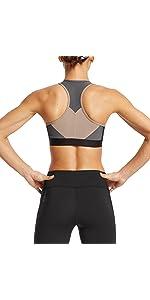 Mission Women's Temper Racerback Medium Impact Sports Bra,Sports Bra,sports bras,women