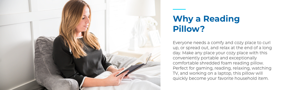 Why a Reading Pillow?