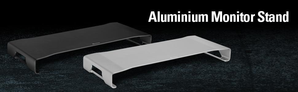 Sharkoon Aluminium Monitor Stand Schwarz Elektronik