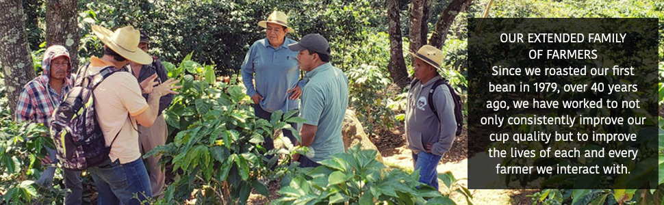 coffee farmers, san francisco bay coffee, sustainability, ethically sourced coffee