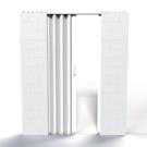 everblock, door, accordion door, building blocks, modular, blocks