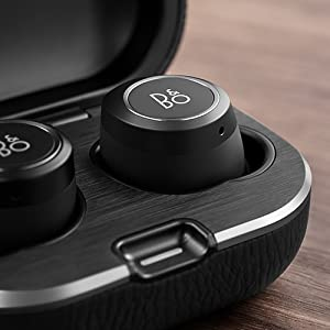 Bang & Olufsen Beoplay E8 2.0 Truly Wireless Bluetooth Earbuds and Charging Case, qi certified