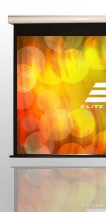 Spectrum2, elite screens, motorized projector screen
