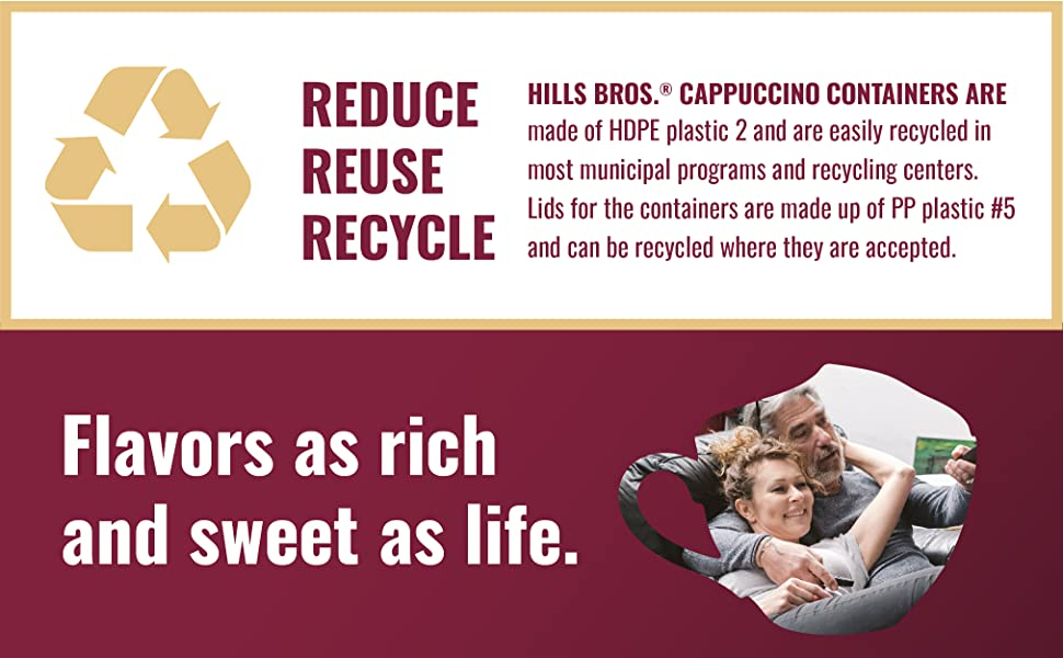 Reduce Reuse Flavors as rich and sweet as life.