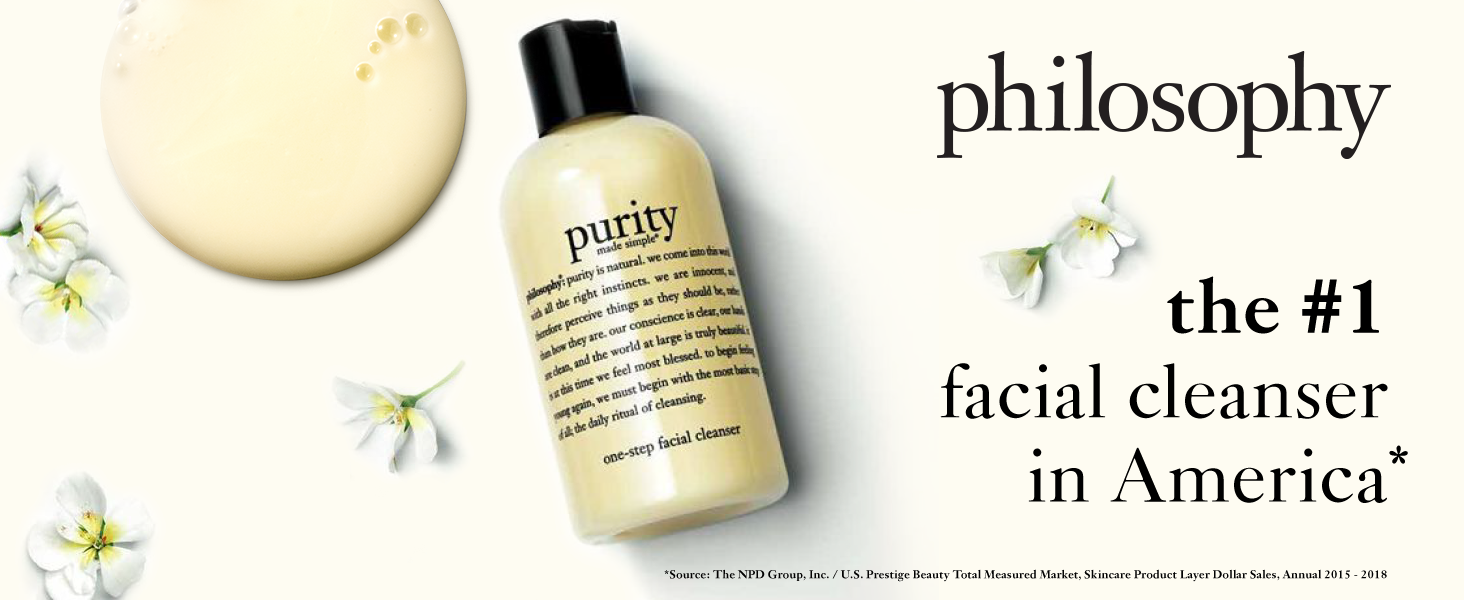 8oz purity made simple one step facial cleanser