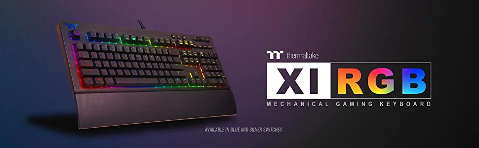 Amazon Com Thermaltake Tt Premium X1 Rgb Smartphone Enabled Voice Controlled Ai 16 8 Million Color With 12 Lighting Effects Cherry Mx Silver Switches Mechanical Gaming Keyboard Kb Tpx Ssbrus 01 Computers Accessories