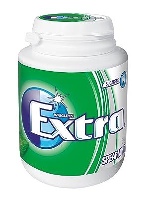 Extra, Spearmint, bubble gum, bubblegum, chewing gum, Extra Gum, sugar free, sugarfree gum, Wrigley