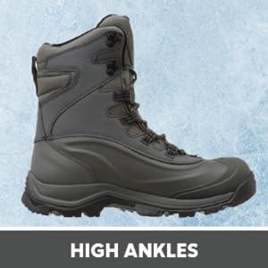 high ankles