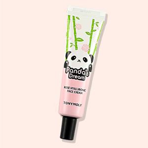rose hyaluronic face cream