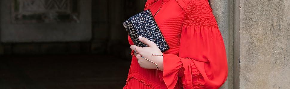 Jessica Mcclintock Bolsos de mano para mujer, vestidos de noche