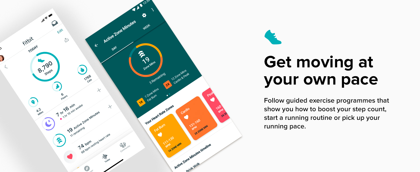 Fitbit Inspire 2 - Get moving at your own pace