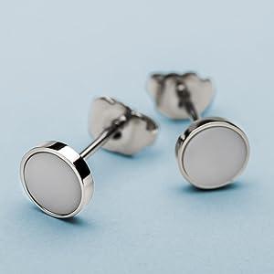 Bering Donne orecchini Behring Skagen gioielli Design ceramica Swarovski elementi acciaio inossidabi