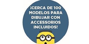Minions CRDES100 Proyector de Dibujos: Amazon.es: Juguetes y juegos