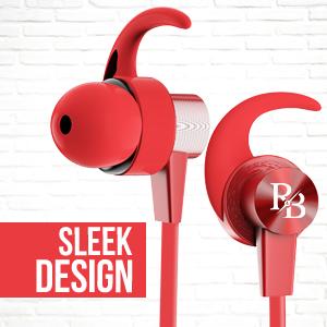 Rhythm&Blues A10BT in Ear Wireless Earphones (Red)
