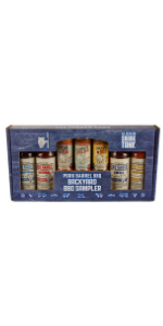 BBQ Sauce and Spices Gift Pack Holiday Pork But Rib Rub Sampler