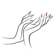 Art 2C, smalto per unghie, unghie finte, ciglia finte