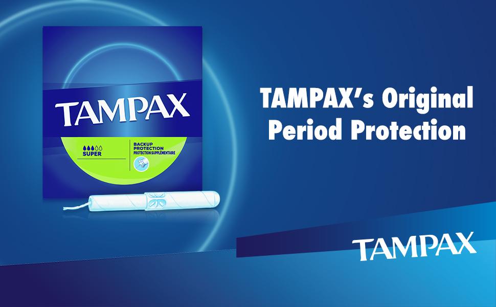 Tampax's Original Period Protection