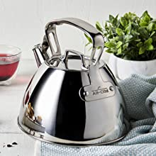 All-Clad kettle, stovetop kettle, stove top kettle, gas kettle, not electric kettle, large kettle
