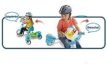VTech Triciclo Inteligente Evolutivo 4 en 1 tek-Trike, Color Rosa (3480-196857)