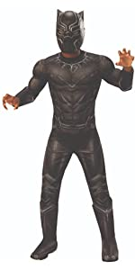 child's black panther costume