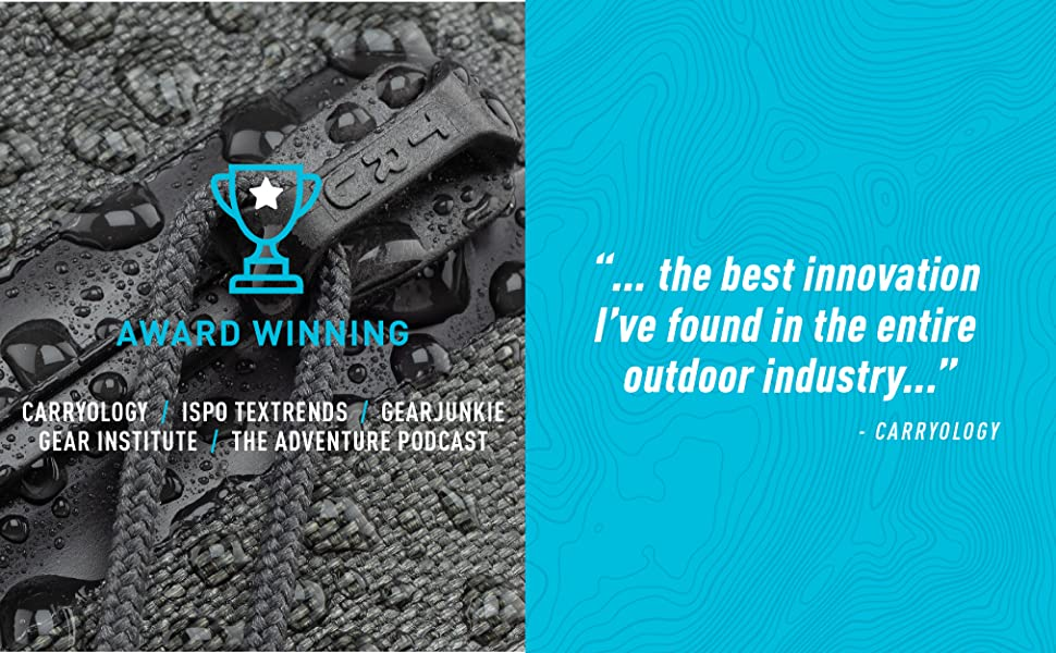 best innovation in the outdoor industry, carryology best of show, carryology award winner
