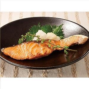鮭の液体塩こうじ漬け焼き