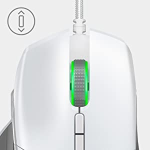 Razer Basilisk Mercury - Sensor óptico True 16.000 5G - Embrague ...