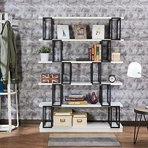 White & Black Bookshelf