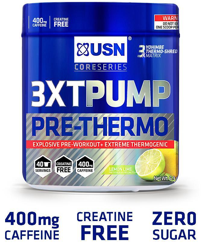 Amazon.com: USN 3XT-PUMP Pre-Thermo, Lemon Lime: Health