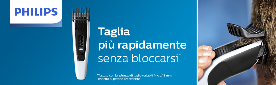 Tagliacapelli Philips HC3518 Series 3000 Senza cavo Autonomia 45 minuti HC3518//