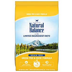 Amazon.com : Natural Balance L.I.D. Limited Ingredient Diets Dry Cat Food, Green Pea & Duck Formula, 2 Pounds, Grain Free : Pet Supplies