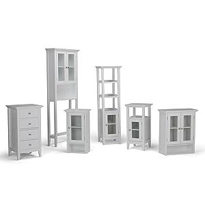 Amazon.com: Simpli Home colección Acadian banca para ...