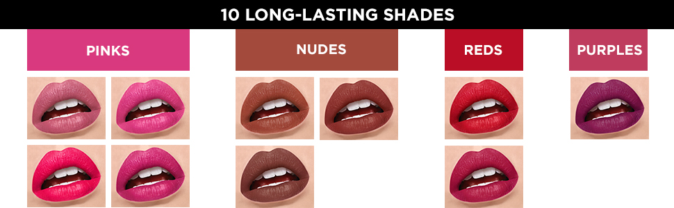 L'Oreal Paris Infallible Pro Matte Gloss, Liquid Lipstick, Lips