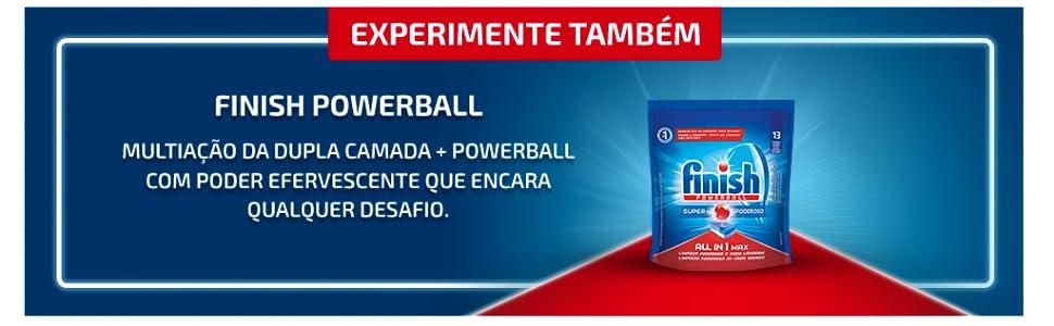 Finish tabs; powerball