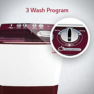 3 wash program