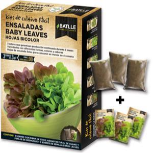 Huerto Urbano - Baby leaves Hojas Verdes - Batlle: Amazon.es: Jardín