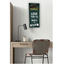 Baylor Bears Love You to Collage Logo Plaque