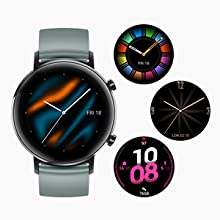 A variety of watch faces are available for you to select and customize. Refresh your everyday mood