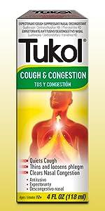 Tukol,Tukol Cough & Congestion,multi symptom,expectorant,medicine,syrup, ...