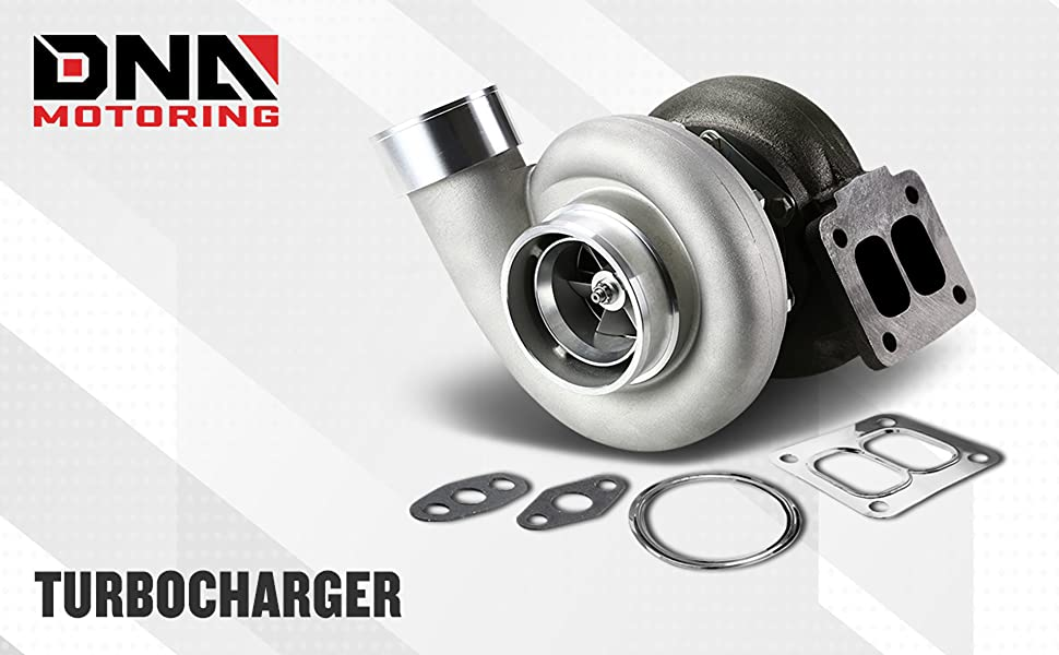DNA Motoring TBC-GT45 Turbocharger with Wastegate Turbine