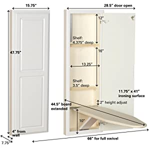 Amazon Com Household Essentials 18100 1 Stowaway In Wall