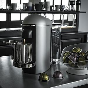 Café De Ml Yy3916fd Espresso 40 Pour Nespresso Krups Blanc Vertuo À 410 Machine Long Capsules Ou GpLSqVMUz