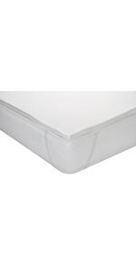 Classic Blanc - Topper/sobrecolchón viscoelástico confort ...