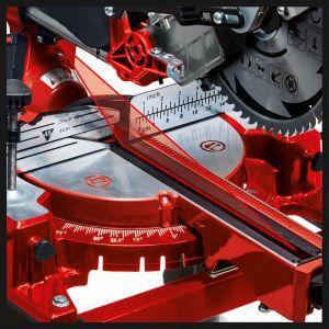 Einhell Sierra de Inglete TC-SM 2531/1 U (1900 W, 4800 min-1, función de deslizamiento integrada para piezas de hasta 310 mm de ancho, incl. hoja de ...