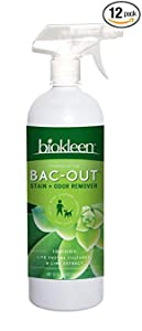 bac-out, cleaner, odor remover, stain remover, biokleen
