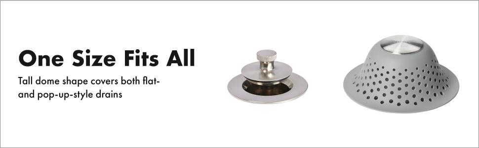 Silicone drain de plancher D/éodorant Mat Pad adaptable /évier Cr/épine Filtre d/égout toilettes drain de plancher tapis de bain anti odeur d/égout drain de plancher D/éodorant Couverture Transparent