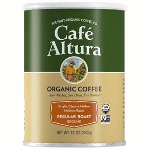Cafe Altura Regular Roast Ground Organic Coffee