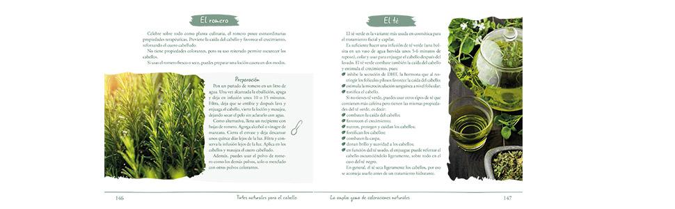 Tintes Naturales para el Cabello (Hilo Verde): Amazon.es ...