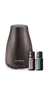 Amazon.com : InnoGear 200ml Essential Oil Diffuser Wood