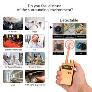 Amazon.com: Eilimy - Detector de señal RF inalámbrico ...